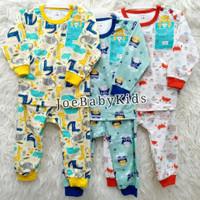 Libby Setelan Panjang Bayi SML / Baju tidur bayi / Piyama anak