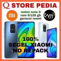 XIAOMI REDMI NOTE 9 RAM 6/128 GB GARANSI RESMI