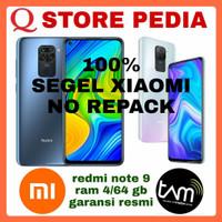 XIAOMI REDMI NOTE 9 RAM 4/64 GB GARANSI RESMI