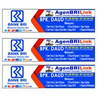 Spanduk / Banner Bank / BRI Link - 1x1