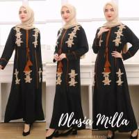 ORI DLUSIA MILLA maxi dress arab/india/dubai/turki busui katun rayon