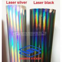 Skotlet stiker hologram stiker laserchrome infinity skotlet motor