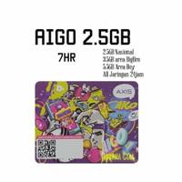 Voucher Axis Aigo 2.5GB 7hr Nasional