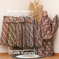 Mukena Motif Rayon Bali Standar Dewasa Mukena Rayon Murah
