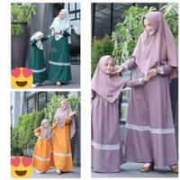 Gamis TATA Couple ibu dan Anak/ Baju Couple