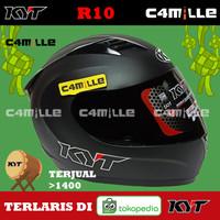 HELM KYT R10 R 10 SOLID BLACK DOFF FULL FACE