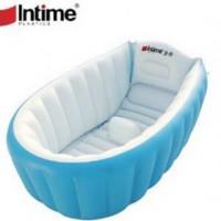 intime baby bath tub - Biru Muda