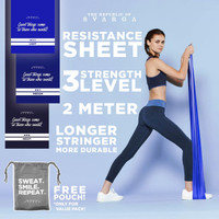 Resistance Band Sheet for Stretching Therapy & Light Exercise