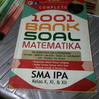 Buku 1001 BANK SOAL MATEMATIKA SMA IPA kls X, XI, XII