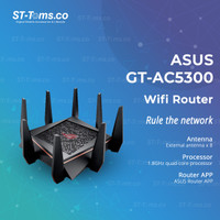 ASUS ROG Rapture GT-AC5300 Tri-Band Gigabit WiFi Gaming Router