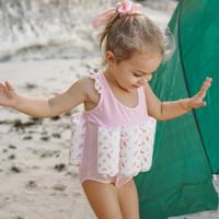 Summertide Girls Sleeveless Floatsuit   Baju Renang Pelampung Anak