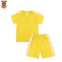 MacBear Baju Anak Laki-laki Setelan Basic Collection Adam Sport - Kuning, SIZE 1