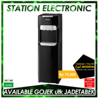 Modena Water Dispenser DAVION DD 75 L - Black - Khusus Gojek/Grab