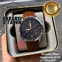 [ORIGINAL] Jam Tangan Pria Fossil FS5408 Neutra Chronograph Original