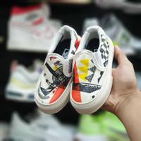 [Bisa COD] Sepatu Anak V*ans Slip On Moma Kids size : 20-35 - 20/21