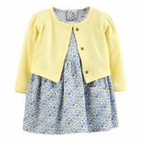 Dress baby / setelan dress bayi perempuan / baju bayi cewe import
