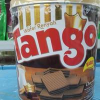 PROMO Tango Wafer Kaleng 350gr Cokelat, Keju, Vanila (Kue Lebaran)