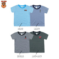 MacBear Baju Anak Laki-laki Kaos Stripe-A-Holic Collection