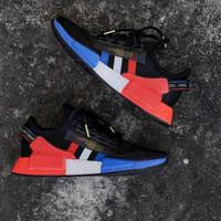 Sepatu Pria Adidas NMD R1 V2 Black Red Blue White Paris