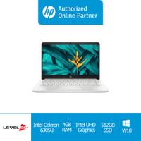 Laptop HP 14s-dq2519TU(390G5PA)-14'HD/CELERON 6305U/4GB/512GB SSD+OHS - Non Screen