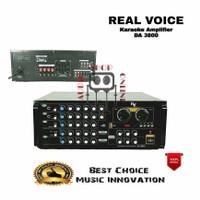 Amplifier Karaoke Real Voice DA 3800 Bluetooth Mp3