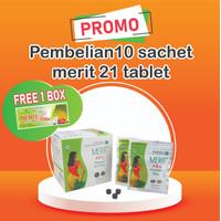 Pelangsing Diet Kesehatan Herbal - Merit Tablet 21