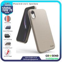 Ringke iPhone Xr Air S Sand Stone Softcase Anti Crack Slim Armor Drop