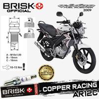 Busi Motor Brisk Copper Racing Tipe - AR12C Vixion 2009