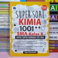 Buku SUPER SOAL KIMIA 1001 SMA Kelas X - ANDI