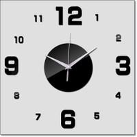 Jam Dinding DIY Giant Wall Clock Quartz Creative Design Arcylic