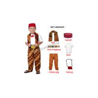 Baju Kostum Adat Betawi Anak Si Pitung