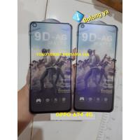 OPPO A74 4G 2021 TEMPERED GLASS GAMING AG MATTE FULL COVER ANTI MINYAK