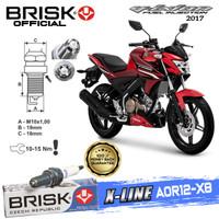 Busi Motor Brisk Premium Xline Tipe - AOR12-X8