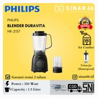 PHILIPS BLENDER HR2157 HR 2157 DURAVITA TRITAN JAR 2L 2 L 350 W