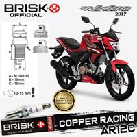 Busi Motor Brisk Copper Racing Tipe - AR12C Vixion 2017
