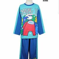 Piyama minion Anak Cowok Porcupine Kaos Baju Tidur laki cowo setelan
