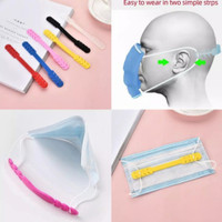 Pengait masker Silikon Hook Mask konektor hijab masker terbaru