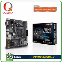 ASUS PRIME B450M-K (AMD AM4, AMD B450, DDR4)