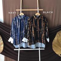 Baju Blouse Muslim Wanita Modern Terbaru HANURA 2021