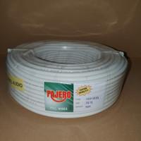 Kabel Serabut Pajero 2x0,75mm - Putih