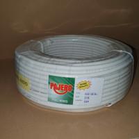 Kabel Serabut Pajero 2x1.5mm - Putih
