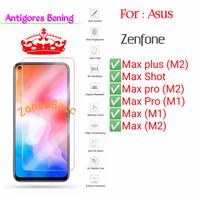 Asus Zenfone Max M1 M2 Plus Pro M1 M2 Shot Antigores Bening TG Screen