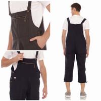 Overall baju kodok pria polos