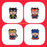 Angpao Angpau Imlek Amplop Lebaran Anak 3D Karakter Kartun Superheroes