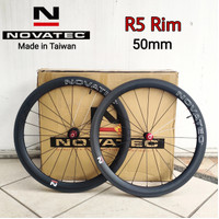 Wheelset Carbon NOVATEC R5 Rim Brake Clincher 50mm