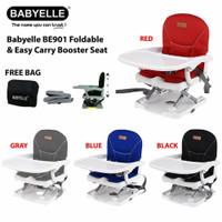 FOLDABLE & EASY CARRY BOOSTER SEAT BABYELLE- TEMPAT DUDUK MAKAN BAYI