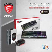 Paket Bundle Keyboard Gaming MSI Vigor GK30 RGB + Clutch GM08 Mouse