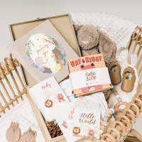 OH x BL- Bundle YOU ARE LOVED- Baby Journal, Milestone Cards, Softbook