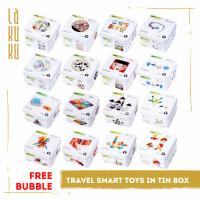 Lakuku - Games For Trip Puzzle Travel Kayu Montessori Balok Susun