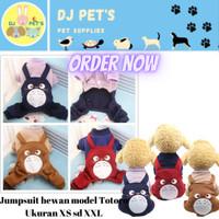Pet Jumpsuit premium dog cat jacket baju anjing / baju kucing